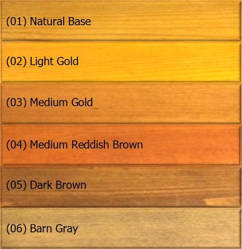 Paul's Color Chart